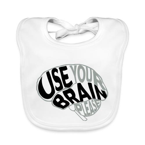 Use your brain - Bavaglino ecologico per neonato