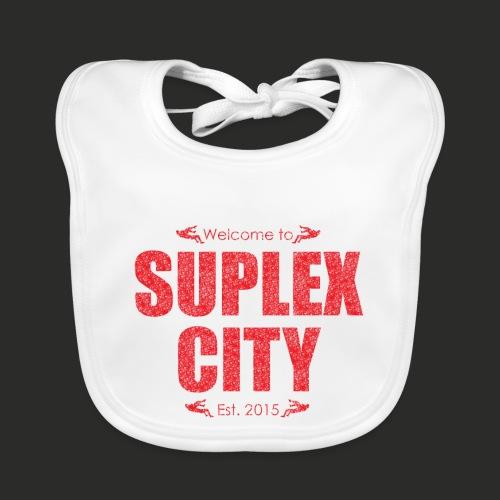 Suplex City Mens T-Shirt - Baby Organic Bib