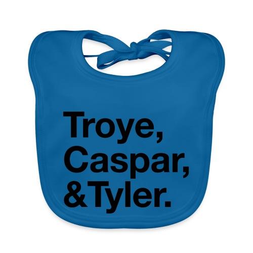 TROYE CASPAR AND TYLER - YOUTUBERS - Bavaglino ecologico per neonato