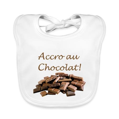 Chocolat - Bavoir bio Bébé