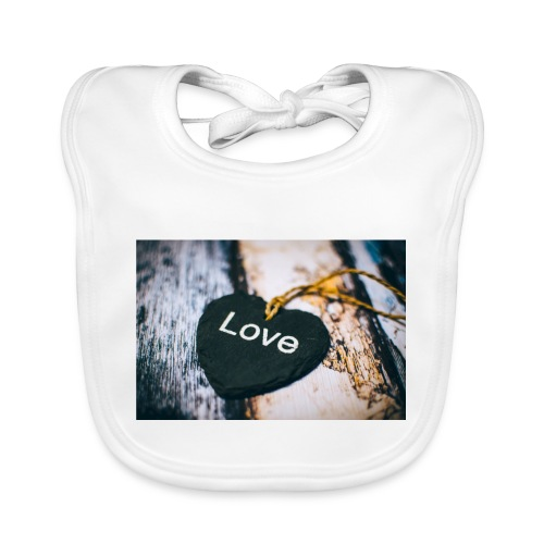 love - Baby Organic Bib