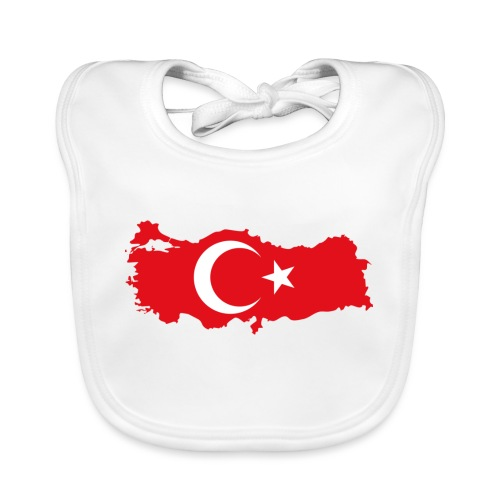 Tyrkern - Baby økologisk hagesmæk