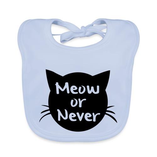 Meow or never - Bio-slabbetje voor baby's