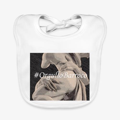 #OrgulloBarroco Proserpina - Babero de algodón orgánico para bebés
