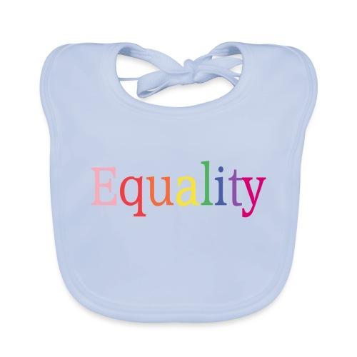 Equality   Regenbogen   LGBT   Proud - Baby Bio-Lätzchen
