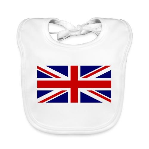 drapeau anglais - Bavoir bio Bébé