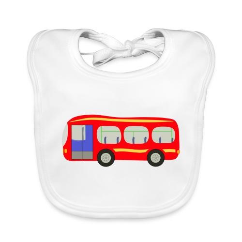 bus - Baby Organic Bib