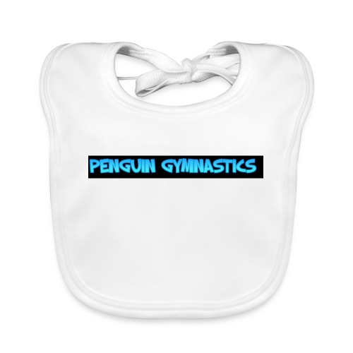 The penguin gymnastics - Baby Organic Bib