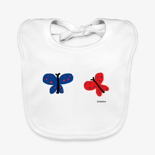 Perhoset - Vauvan luomuruokalappu
