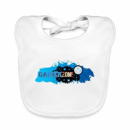 GAMER ZONE - Babero de algodón orgánico para bebés