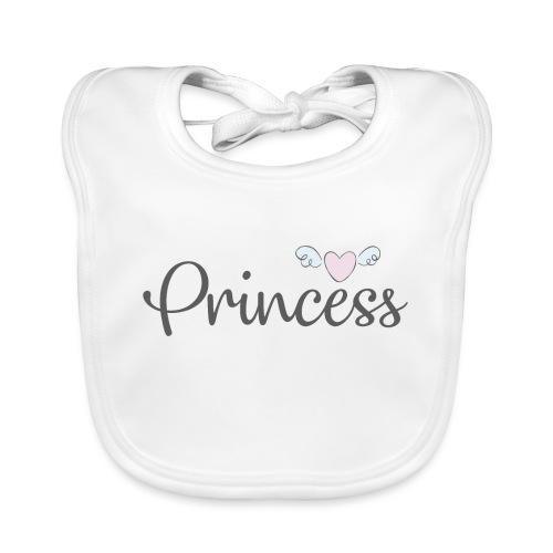 Princess1 - Babero ecológico bebé