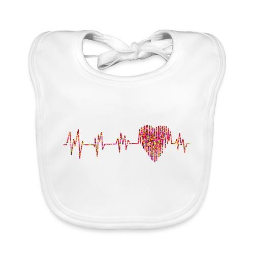 Electrocardiogram - Babero ecológico bebé