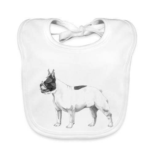French Bulldog - Baby økologisk hagesmæk