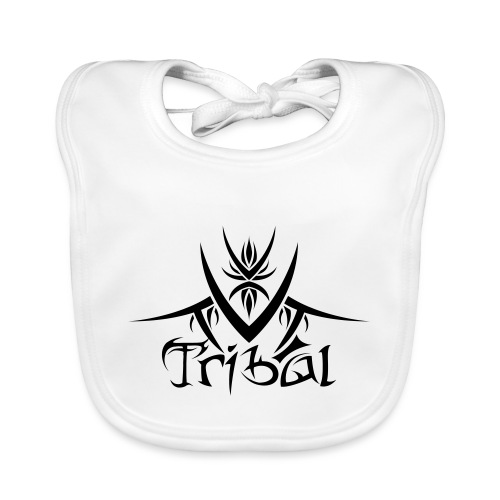 Motif Tribal 1 - Bavoir bio Bébé