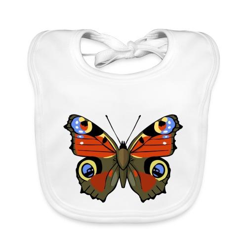 vlinder1_d - Bio-slabbetje voor baby's