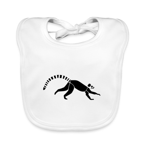 Lemur - Baby Bio-Lätzchen