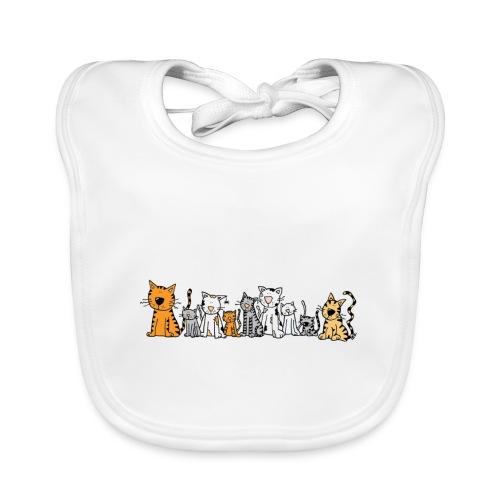 Cats & Cats - Bio-slabbetje voor baby's