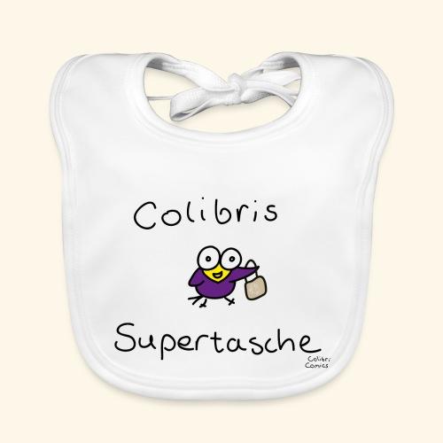 Colibris Supertasche - Baby Bio-Lätzchen
