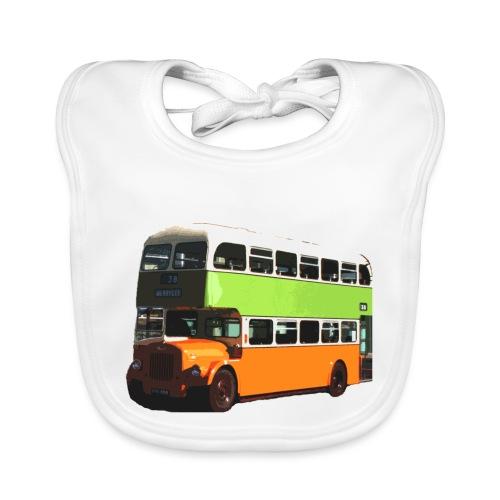 Glasgow Corporation Bus - Baby Organic Bib