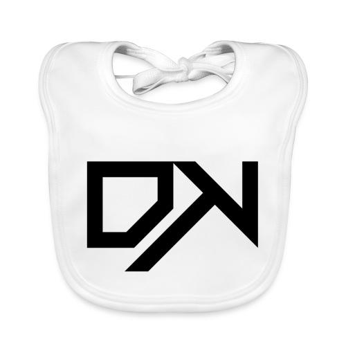 DewKee Logo Cap Black - Baby Organic Bib