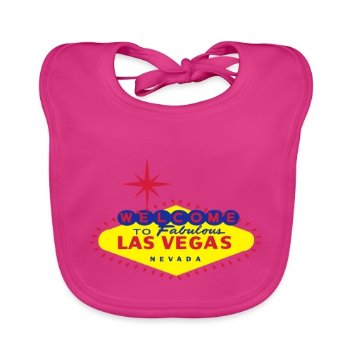 Create your own Las Vegas t-shirt or souvenirs - Baby Organic Bib