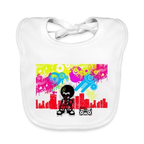Magliette personalizzate bambini Dancefloor - Bavaglino ecologico per neonato