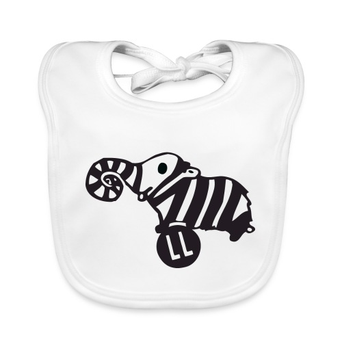 Strampler Lauscherfant - Baby Bio-Lätzchen