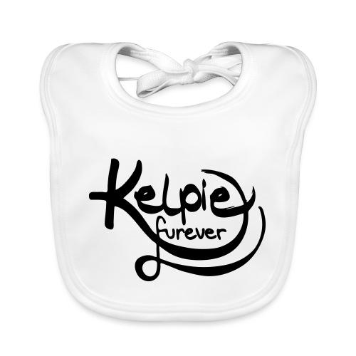 Kelpie furever - Baby Bio-Lätzchen
