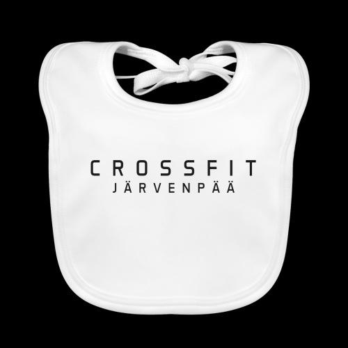 CrossFit Järvenpää mustateksti - Vauvan luomuruokalappu