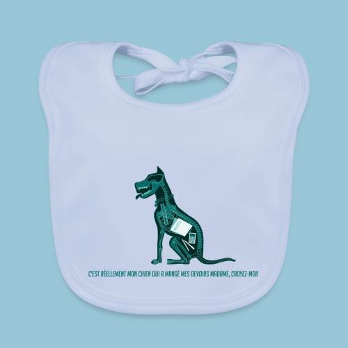 T-shirt pour homme imprimé Chien au Rayon-X - Bavoir bio Bébé