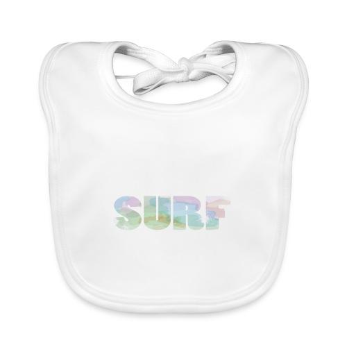 Surf summer beach T-shirt - Baby Organic Bib