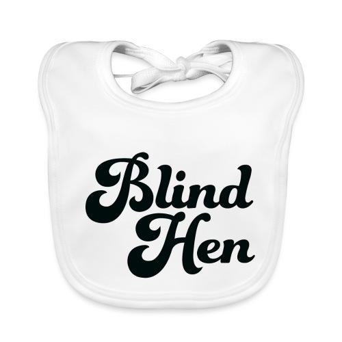 Blind Hen - Logo Lady fit premium, blue - Organic Baby Bibs