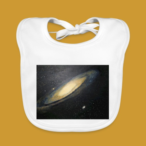 Andromeda - Mark Noble Art - Baby Organic Bib