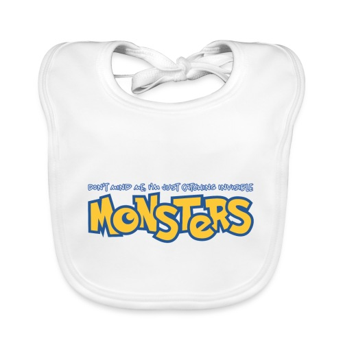 Monsters - Baby Organic Bib