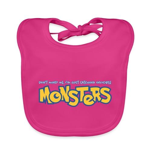 Monsters - Baby Organic Bib