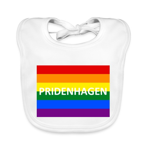 PRIDENHAGEN - Rainbow - Baby økologisk hagesmæk