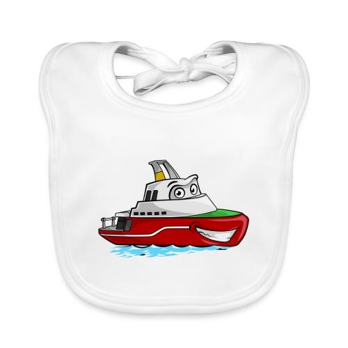 Boaty McBoatface - Baby Organic Bib