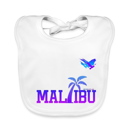 Space Atlas Ladies T-Shirt Malibu - Baby økologisk hagesmæk