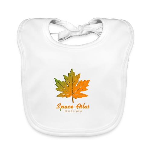 Space Atlas T-Shirt Autumn - Baby økologisk hagesmæk
