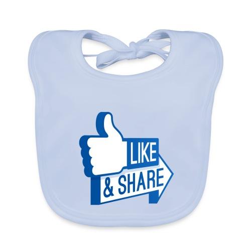 Like & Share (Facebook) - Bavaglino ecologico per neonato