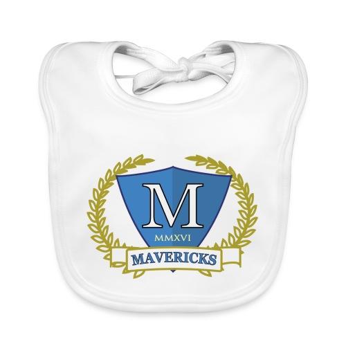 Mavericks_Club-_Stemma_Blue - Bavaglino ecologico per neonato