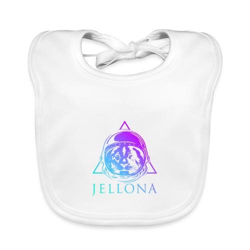 Jellona - space party - Vauvan luomuruokalappu