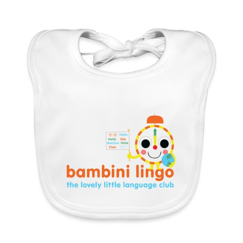 bambini lingo - the lovely little language club - Baby Organic Bib