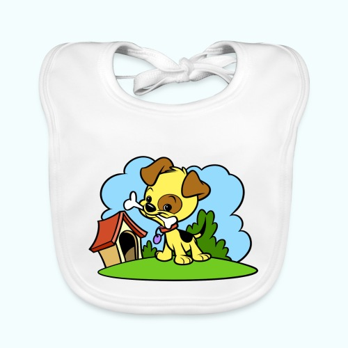 Tiny Dog - Baby Organic Bib