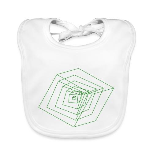 Cubes - Bavoir bio Bébé