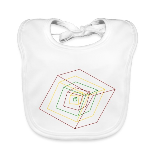 Rasta Cubes - Bavoir bio Bébé