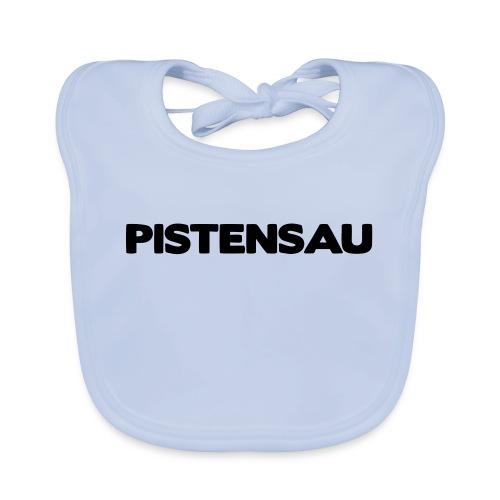 Ski Shirt Pistensau - Baby Bio-Lätzchen