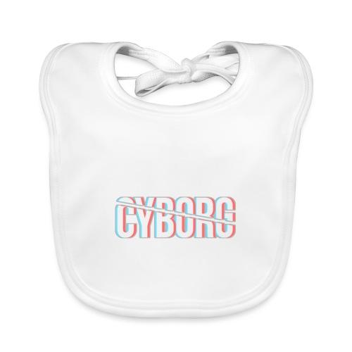 CYBORG_3D_BARRE - Bavoir bio Bébé
