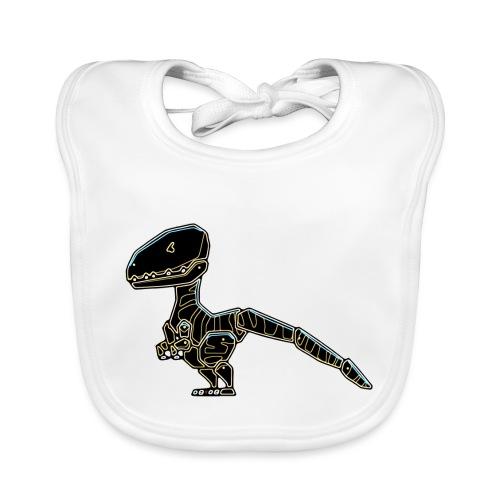 Velociraptor - Organic Baby Bibs