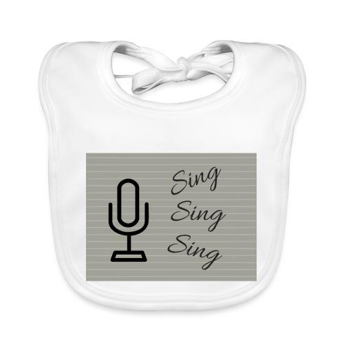 Sing Sing Sing - Organic Baby Bibs